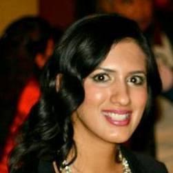 Kinza Masood smiling